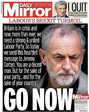 Daily Mirror: 28th June 2016