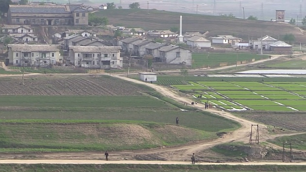 Farm in North Korea
