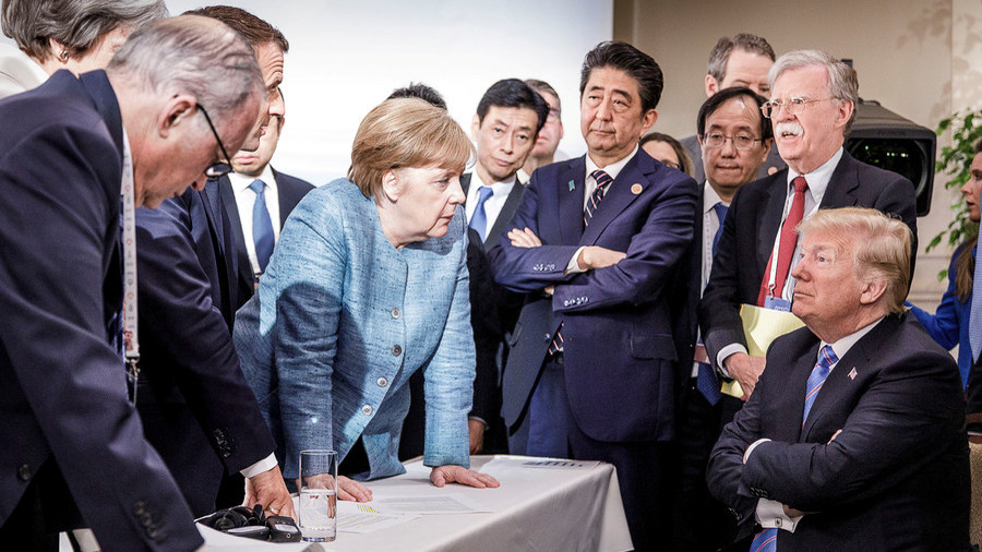 G7 Leaders not happy with Trump