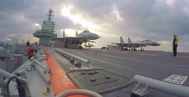 Chinese aircraft carrier: Liaoning